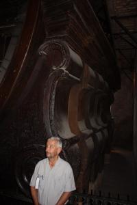 Poor John and the cask at Heidelberg Schloss.