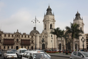 Archbishop's Palace and Cathedral, Lima