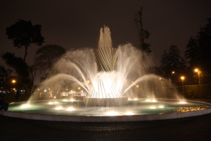 Lima fountain