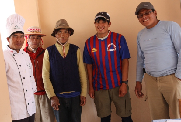 Lares Trek support team