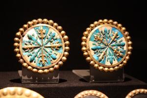 Ancient Peruvian earrings
