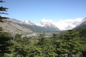 Trekking near El Chaltén