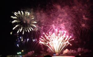 Rio fireworks 2012
