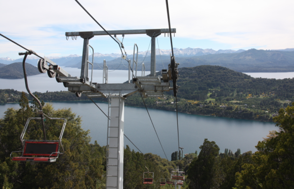 Chairlift at Cerro Campanario