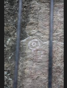 Rock art, Victoria Island, Argentina