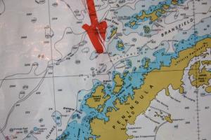 Heading to the Antarctic Peninsula