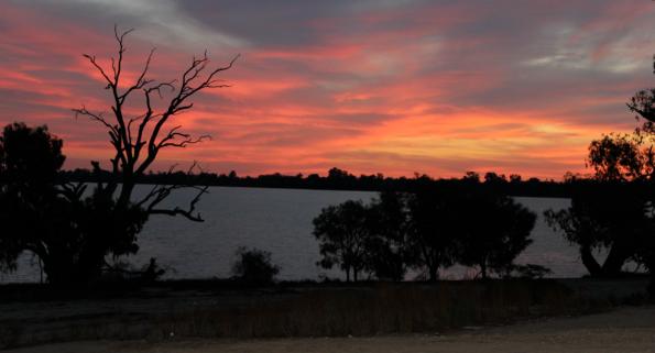 Sunset at Lake Bananee