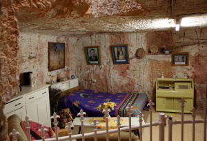 Underground bedroom