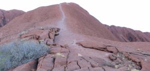 Uluru climb