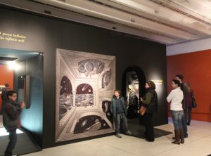 Escher exhibit, Curitibia