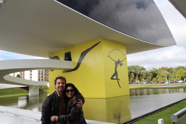 Eduardo and Dani, Museu Oscar Niemeyer