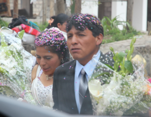 Peruvian wedding