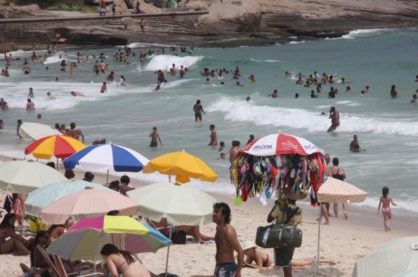 bikini bras on beach
