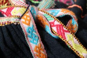 Peruvian skirt