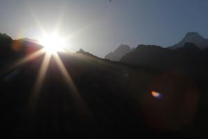 Sunrise, Machu Picchu