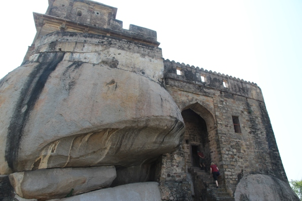 Madan Mahal on rock