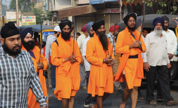 Sikh swordsmen