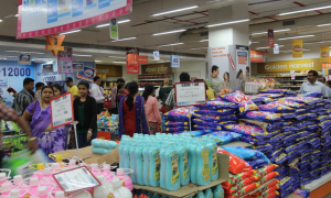 supermarket checkout India