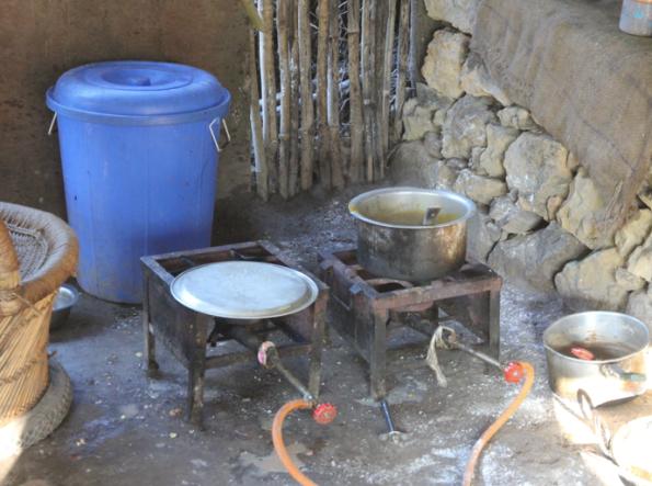 Simple kitchen, India