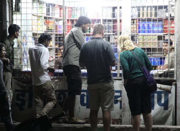 English Wine Shop, India