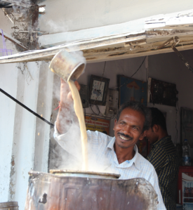 Chai maker, India