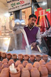 Flavoured milk, India