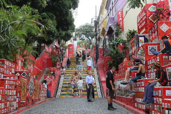 Lara Steps, Escadaria Selarón
