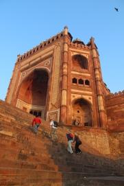 Fatehpur Sikri, entrance