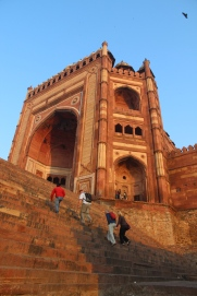 Fatehpur Sikri, entrance