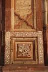 Buland Darwaza, inlay