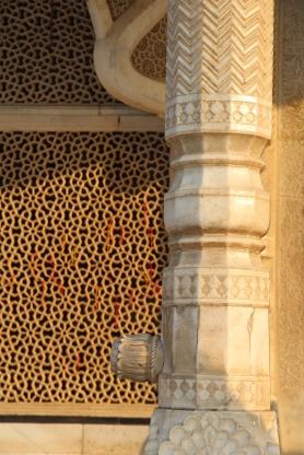 Salim Chishti's tomb, detail