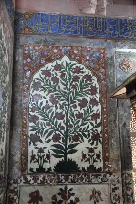 Salim Chishti's tomb, inlay