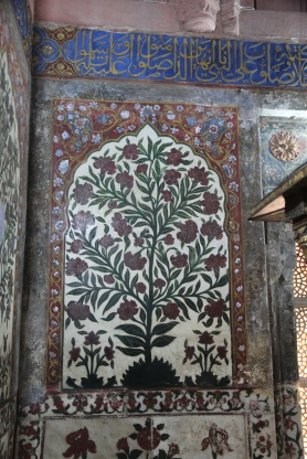 Salim Chishti's tomb, inlay