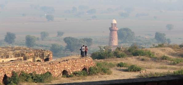 Fatehpur Sikri's missing lake