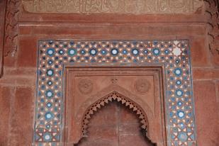 Jama Masjid, inlay