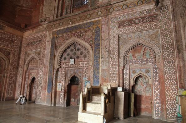 Fatehpur Sikri mosque interior