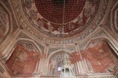 Jama Masjid, ceiling