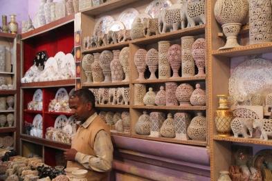Souvenir shop, India