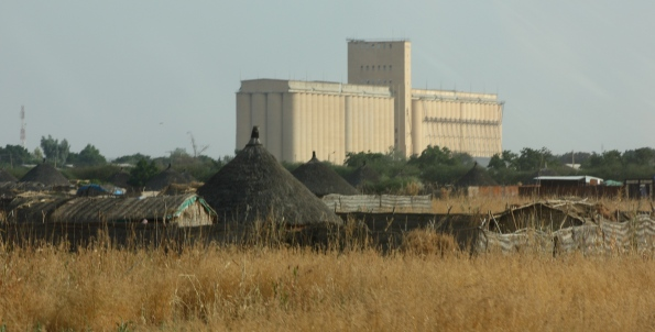 Grain storage, Sudan