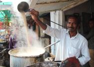 making chai