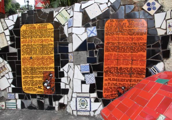 Lapa Steps, panels