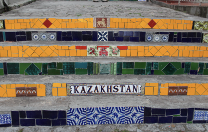 Lapa Steps, Kazakhstan