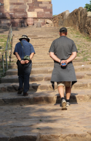 Ranthambore Fort stairs