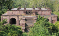 Unfinished temple, Ranthambore Fort