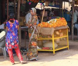 Marigold seller