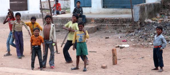 kids' cricket, India