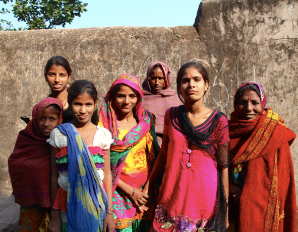 Young people, India