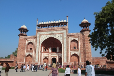 Taj Mahal, main gate