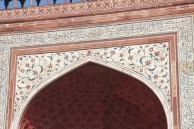 Taj Mahal, southern gate arch