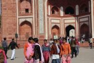 Taj Mahal, southern gate